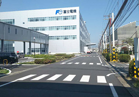 富士电机办公楼全景